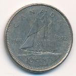 Канада, 10 центов (1992 г.)