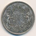 Канада, 50 центов (1940 г.)
