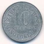 Кюнцельзау., 10 пфеннигов (1917 г.)
