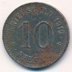 Нотгельды., 10 пфеннигов (1919 г.)
