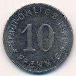 Охлигс., 10 пфеннигов (1920 г.)