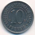 Нюртинген., 10 пфеннигов (1918 г.)