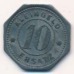Эринген., 10 пфеннигов (1917 г.)
