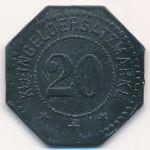 Нойштадт., 20 пфеннигов (1917 г.)