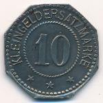 Ошерслебен., 10 пфеннигов (1917 г.)