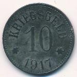 Пфаффенхоффан., 10 пфеннигов (1917 г.)