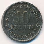 Пфорцгейм., 10 пфеннигов (1918 г.)
