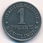 Ройтлинген., 1 пфенниг (1920 г.)