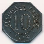 Роттенбург., 10 пфеннигов (1918 г.)