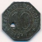 Тюбинген., 10 пфеннигов (1917 г.)