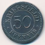 Золинген., 50 пфеннигов (1917 г.)