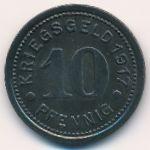 Штеркраде., 10 пфеннигов (1917 г.)