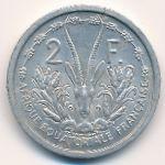 Французская Западная Африка, 2 франка (1948 г.)