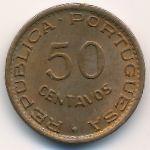 Ангола, 50 сентаво (1953–1954 г.)