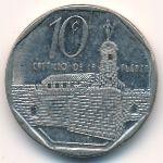 Куба, 10 сентаво (2000 г.)