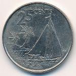 Багамские острова, 25 центов (2007 г.)