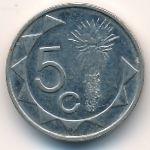 Намибия, 5 центов (1993–2002 г.)