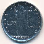 Ватикан, 100 лир (1959 г.)