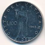 Ватикан, 100 лир (1963 г.)