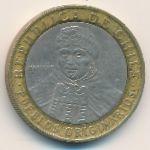 Чили, 100 песо (2004–2015 г.)