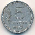Аргентина, 5 сентаво (1972 г.)