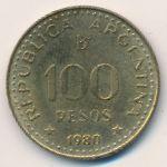 Аргентина, 100 песо (1980 г.)