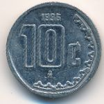 Мексика, 10 сентаво (1996–1997 г.)