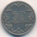 Центральная Африка, 50 франков (1983 г.)