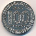 Камерун, 100 франков (1966–1968 г.)