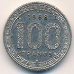 Камерун, 100 франков (1968 г.)