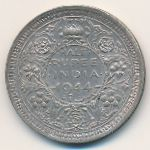 Британская Индия, 1/2 рупии (1944 г.)
