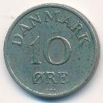 Дания, 10 эре (1956–1958 г.)