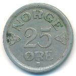 Норвегия, 25 эре (1954–1956 г.)