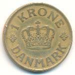 Дания, 1 крона (1938 г.)