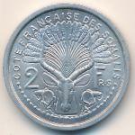 Французское Сомали, 2 франка (1965 г.)