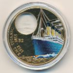Виргинские острова, 2 доллара (2012 г.)