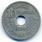 Тунис, 10 сентим (1918 г.)