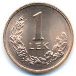 Албания, 1 лек (1996 г.)