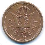 Барбадос, 1 цент (2008–2011 г.)
