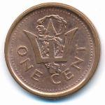 Барбадос, 1 цент (2009–2011 г.)