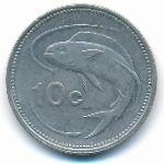 Мальта, 10 центов (1995–1998 г.)