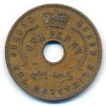 Британская Западная Африка, 1 пенни (1958 г.)