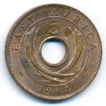 Восточная Африка, 5 центов (1964 г.)