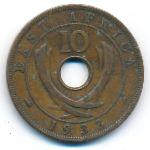 Восточная Африка, 10 центов (1933–1934 г.)