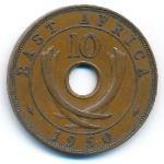 Восточная Африка, 10 центов (1950 г.)