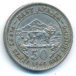 Восточная Африка, 50 центов (1960 г.)