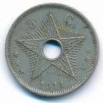Бельгийское Конго, 5 сентим (1911 г.)