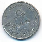 Восточные Карибы, 25 центов (2004–2007 г.)