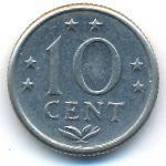 Антильские острова, 10 центов (1974 г.)