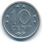 Антильские острова, 10 центов (1976 г.)